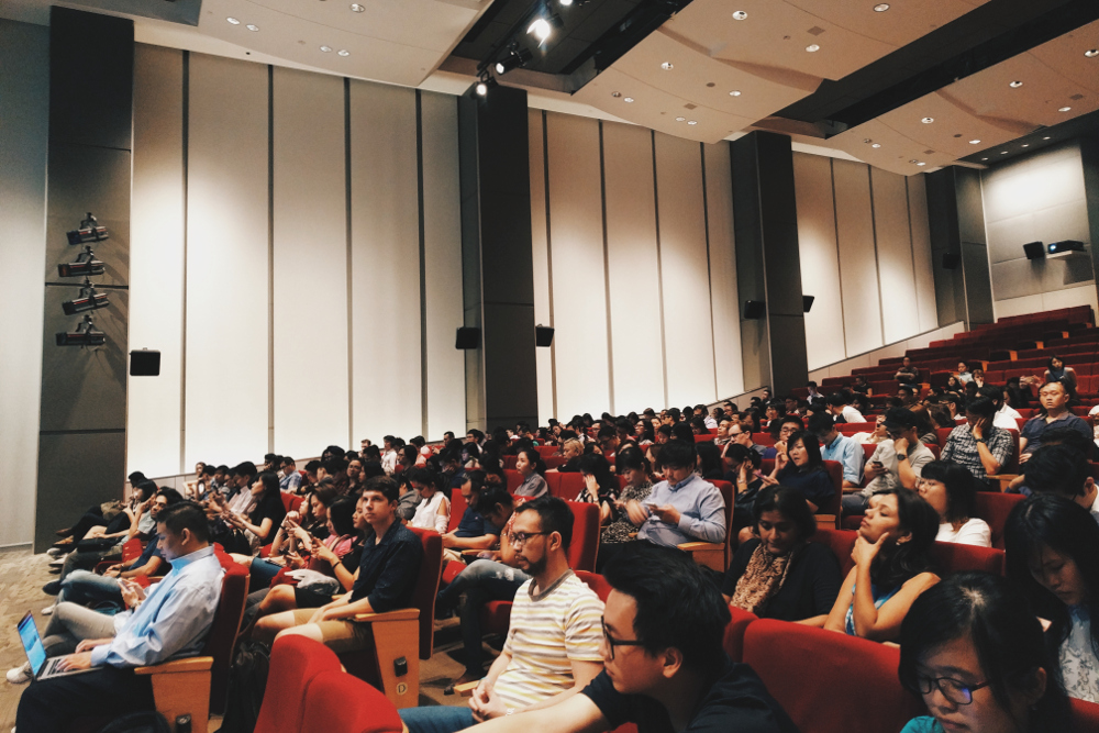 The crowd at GA Singapore